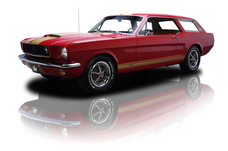 L'une des Mustang Wagon réalisés après le prototype