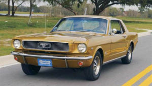 "Mustang 1966 ""Anniversary Gold Edition"""