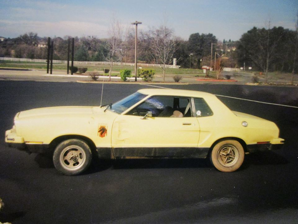 La Mustang II Stallion de Bobby avant son achat.