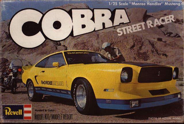 Le modèle réduit de la Monroe Handler Mustang II. Crédits : mustangattitude.com