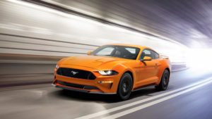 Ford Mustang 2018 : une première approche