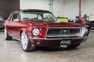 La Mustang '68 d'Amber Heard