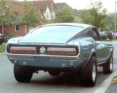 La Mustang Stallion de 1967 a été produite à seulement huit exemplaires