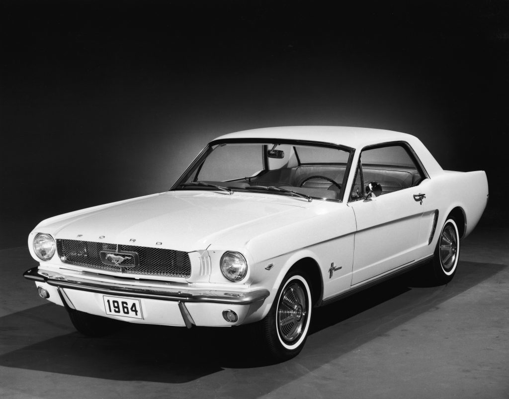 1964 Ford Mustang (Photo by FPG/Getty Images)