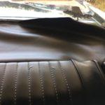 1. Démonter le dossier du siège arrière