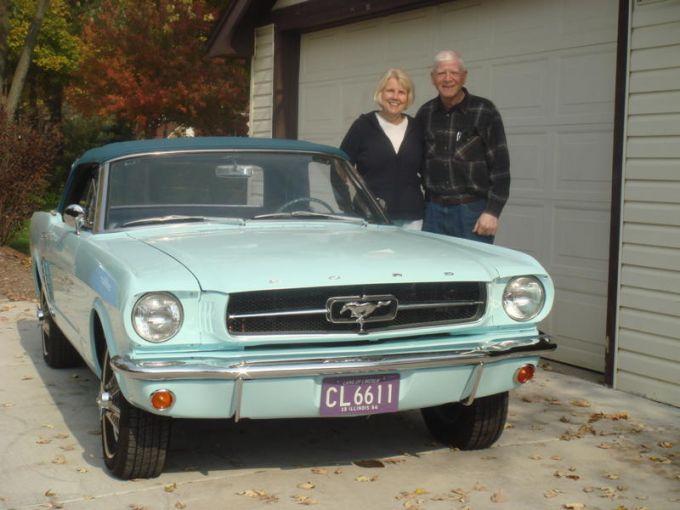 Finalement, le couple est fier d'avoir réalisé la restauration de leur Mustang 65.