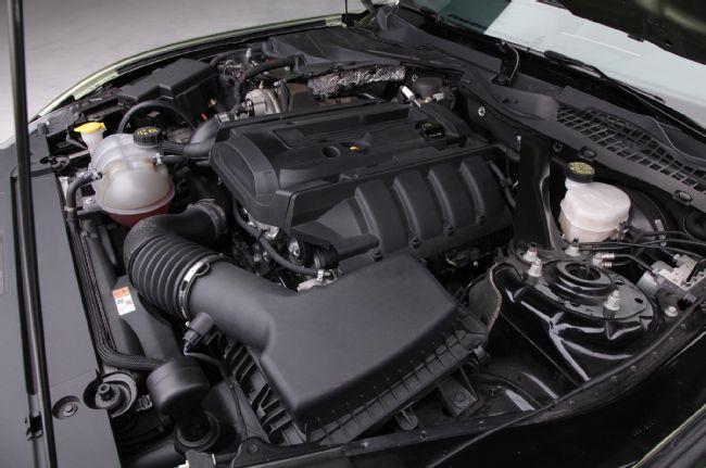 Le turbo du 4 cylindres est entièrement revu.