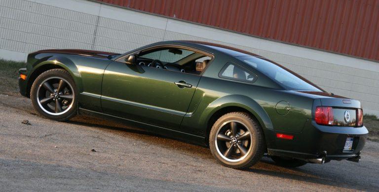 Bullitt 2008. Crédits photo : Car Autos Gallery