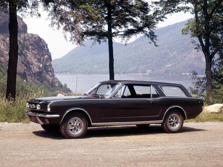 La Mustang Wagon