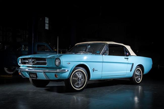 """La Mustang de Rob Hermann en excellent état est présentée à l'exposition """"Pony Cars: Then and Now"""" du 8 avril jusqu'en octobre 2017 au musée Allentown's America on Wheels. Photo : Casey Maxon,"""